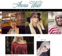Anna Waff - Blogueira