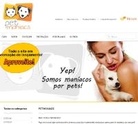 PetManiacs - Loja Virtual Responsiva